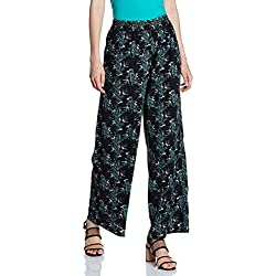 ONLY Women's Relaxed Pants (1800603003_Black_Large)