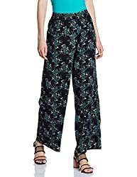 ONLY Womens Relaxed Pants (1800603003_Black_Large)