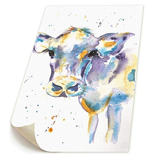 SDGYGSNi bunte Kuh Leinwanddrucke, abstrakte Pop-Art, lustige bunte -