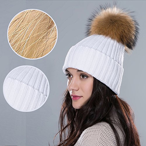 inextstationr-women-girls-beanie-knit-fur-pompon-ball-winter-warm-knitted-hat-crochet-beanie-ski-cap