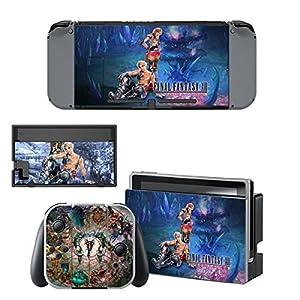 Nintendo Switch + Controller Aufkleber Schutzfolien Set – Final Fantasy XII /Switch