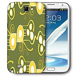 Snoogg Pattern Multicolor Design Printed Protective Phone Back Case Cover For Samsung Galaxy Note 2 / Note II