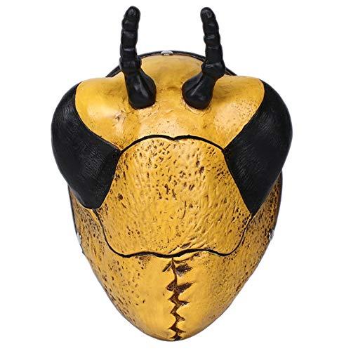 sldnfoi Spiel Ernte Tag 2 Maske Ameisen Halloween Räuber Clown Joker Bug Payday Stil,Yellow-OneSize (Räuber-maske Für Halloween)