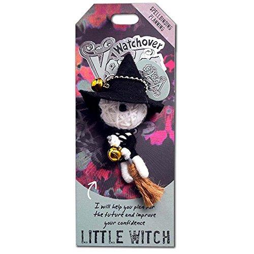 Watchover Voodoo-Puppe / Schlüsselring ~ Kleine Hexe