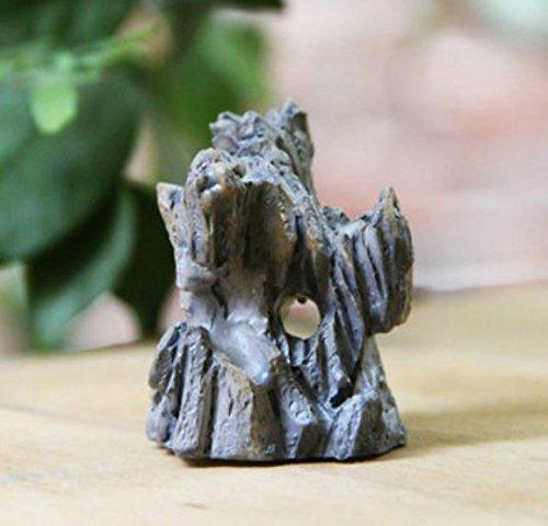 DIY Kunstharz Künstliche Mini Mountain Puppenhaus Fish Tank Micro Landschaft Decor Ornament von shopidea