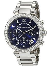 Michael Kors MK6117 - Reloj de pulsera Mujer, Acero inoxidable, color Plata