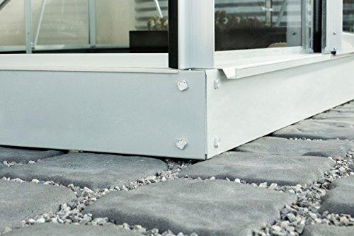vitavia-janus-3000-gewaechshausset-gestell-aus-stabilem-aluminium-weiss-hochwertige-milchige-polycarbonat-hohlkammerplatten-195-x-158-x-197-cm-stabiles-fundament-aus-stahl-regen-und-kaelteschu