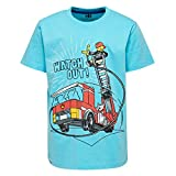 Lego Wear Jungen T-Shirt Boy M, Türkis (Light Turquise 733), 128