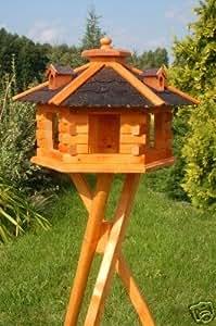 deko shop hannusch nichoir oiseaux sur pieds avec tuiles en asphalte animalerie. Black Bedroom Furniture Sets. Home Design Ideas