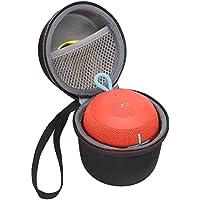 XANAD para Ultimate Ears UE Wonderboom Altavoz inalámbrico Bluetooth Almacenamiento Estuche de Transporte Paquete Viajes Manga de Bolso Encaja Cargador Cable