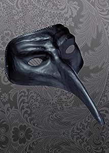 Halloween Black Mask de Style médecin de peste