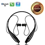 #6: Lambent HBS-730 Neckband Bluetooth Headphones Wireless Sport Stereo Headsets Handsfree with Microphone for Android, Apple Devices