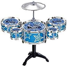 Juguetes Musicales Mini Instrumentos de Percusión Tambor del Jazz