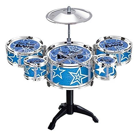 MagiDeal Mini Instruments à Percussion Tambour Batteries Jouets Musicaux Kit Cadeau Enfant