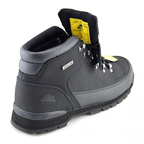 Kick Footwear - Groundwork - Calzado De Seguridad Para Hombre Black Boots Para Hombre