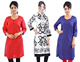 Beautiful Cotton Kurti (Set of 3)