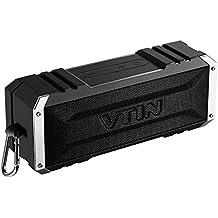 Vtin Punker Altavoz Bluetooth Estéreo Premium 20W Con Radiador Pasivo, Altavoz inalámbrico portátil con 25 HORAS de Emisión Continua para HuaWei, XiaoMi, Nexus, HTC, iPhone y iPad,