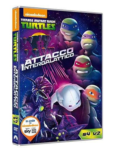 Teenage Mutant Ninja Turtles: Stagione 4 Volume 2 - Attacco Intergalattico (DVD)