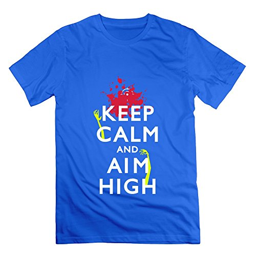 Sophie Warner Herren T-Shirt Blau Königsblau (Walking Supplies Dead Party)