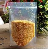 SumDirect 100 Stk. Transparente Zip Druckverschluss Beutel Plastik Klein für Süßigkeiten ,Verpackun Druckverschluss Beutel für Lebensmittel Tee und so weiter(9 x 14 cm)