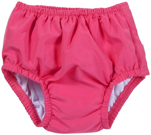 I Play Ultimate Snap Swim Nappy 711200-200-47 Couche avec Bouton pour Nager Fille Chaude Solide Rose