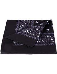 Bandana 100% coton, environ 54 x 54 cm Paisley foulard accessoire vêtement