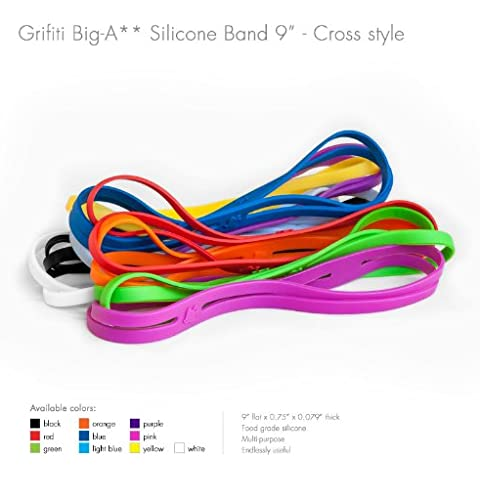 Grifiti Big-Ass Bands X Cross Style 5 Pack 9