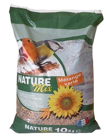 AGROBIOTHERS Nourriture Nature Mix 10 kg pour Oiseaux et Animaux