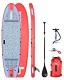 Jobe 2018 Womens Lena Yoga Inflatable Stand up Paddle Board 10'6 x 33 Sup Package