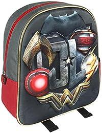 0805785544 Cerdá 3d Justice League Zainetto per bambini, 31 cm, Nero ...