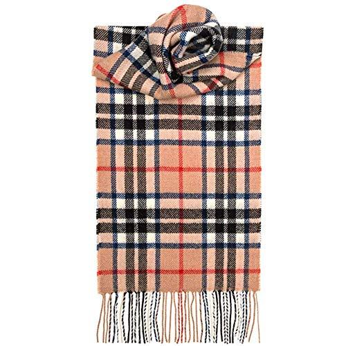 Lochcarron Gebürstet, langer Schal aus Lammwolle, Karomuster, Premium-Qualität in Auswahl von Tartans -