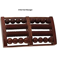 8Rod Foot Wooden Roller acupres Sure Massager Reflex Technology Tools For Body estrés, Pain Relief, Gift For Christmas or Birthday by affaires W de 40153