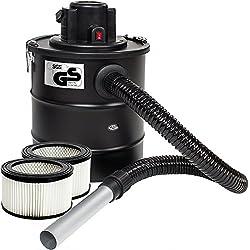 TecTake Aspirateur à cendres 20L moteur motorisé 1200 watt et filtre cheminée BBQ poêles (Aspirateur de à cendres + 3 filtre | no. 401049)
