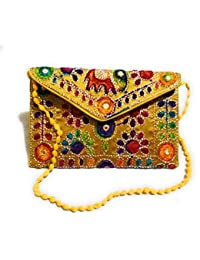 Women's, Girls Embroidery, Hand Work, Traditional Shoulder/sling Bag.