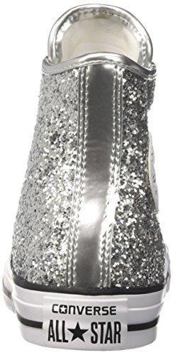 Converse 556817c, Scarpe Extérieur Multisport Donna Multicolore (argent / Blanc / Noir)