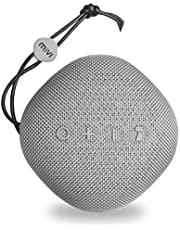 Mivi Moonstone Portable Wireless Speaker with HD Sound, Punchy Bass, Clear Highs and 10Watts Peak Output-Grey