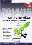 Formulare und Verträge für die Personalpraxis 2014/2015, CD-ROM