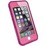 LifeProof frè wasserdichte Schutzhülle für Apple iPhone 6, power-pink
