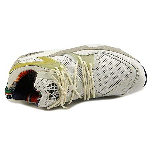 Puma Blaze of Glory Cuir Chaussure de Course White-Vaporous Gray