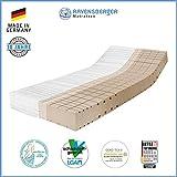 Ravensberger Komfort-SAN 50 Matratze 7-Zonen-HR-Kaltschaummatratze, H4, RG 50 (ab 120 kg) Baumwoll-DT 90x200 cm
