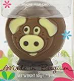 Belfine Chocolate Farm Animals in Acetate Pack,  50 g (Pack of 3)