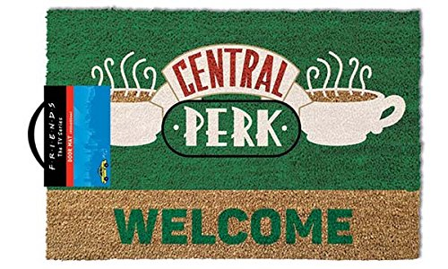 Friends Door Mat Felpudo Central Perk Welcome, Poliuretano, 40 x 60 cm