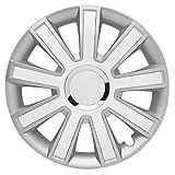 FLASH Silver White - 14 Zoll, passend für fast alle Fiat z.B. für Fiat 500