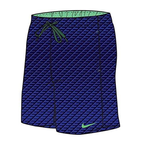 Nike Herren Core Relief 17,8cm Volley Badehose Midnight Navy Größe L Midnight Navy (Marineblau)