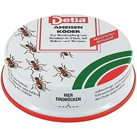 Detia–Esca per formiche, singolo, Dose - Naturale Lawn Care