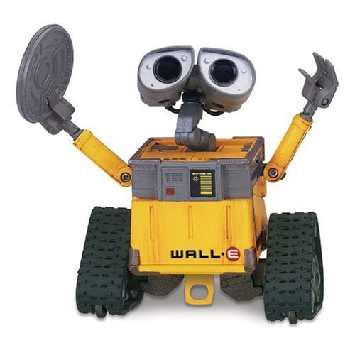 wall e clean and go m o deluxe action figure. Black Bedroom Furniture Sets. Home Design Ideas