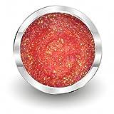 NAILFUN PRIME Farbgel 75 Glitter Mulberry - UV- und LED-Gel - 1x 5ml