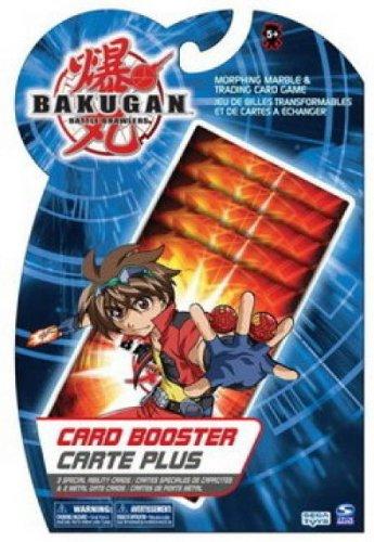 Bakugan Battle Brawlers BakuCard Booster, German Import