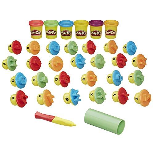 Play-Doh Modella ed Impara - Lettere e Linguaggio - B3407