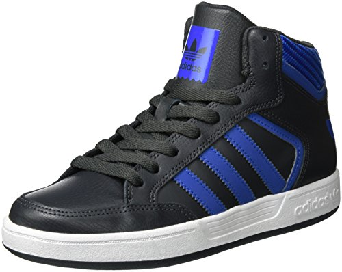 adidas Varial Mid, Montantes Homme Gris (Dgh Solid Grey/Blue/Ftwr White)